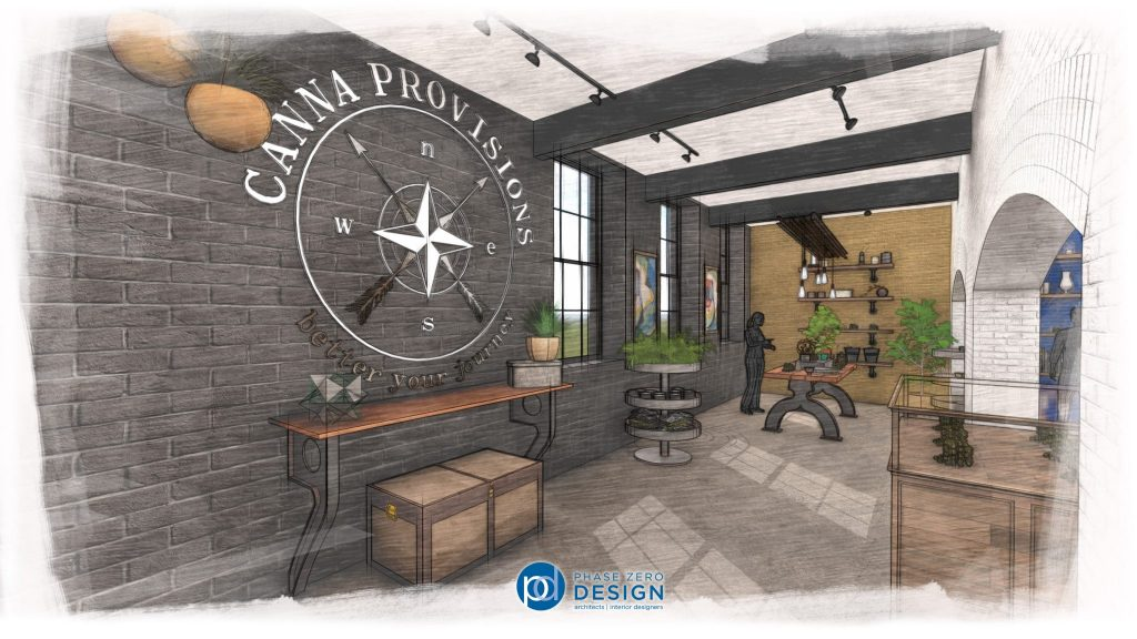 Canna Provisions_Signage Rendering