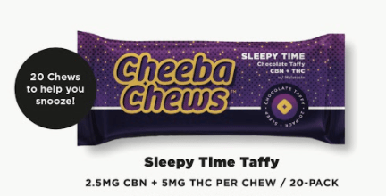 Cheeba Chews Taffy Sleepy Time
