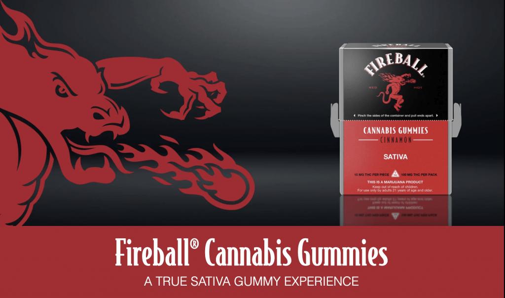Fireball cannabis gummies sativa gummy experience canna provisions
