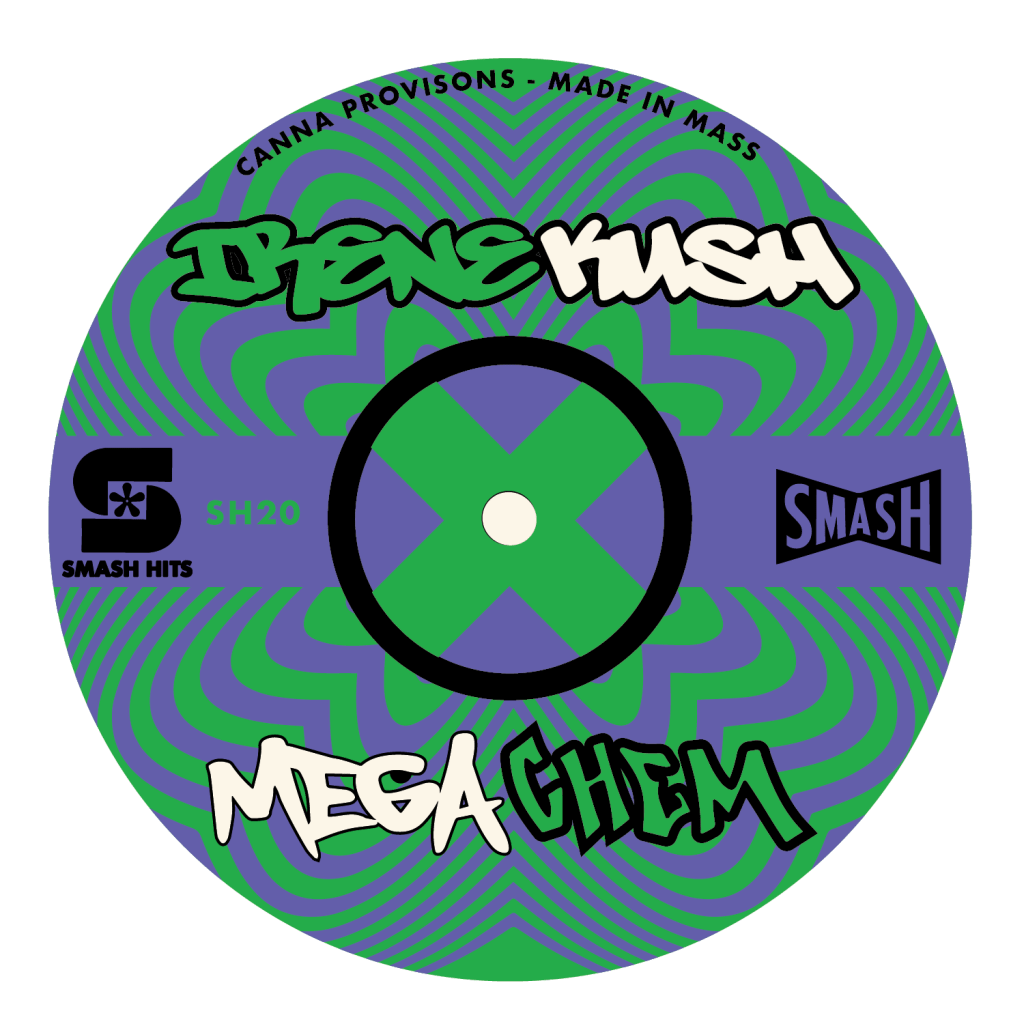 Irene Kush x Mega Chem cannabis strain chemdog smash hits canna provisions