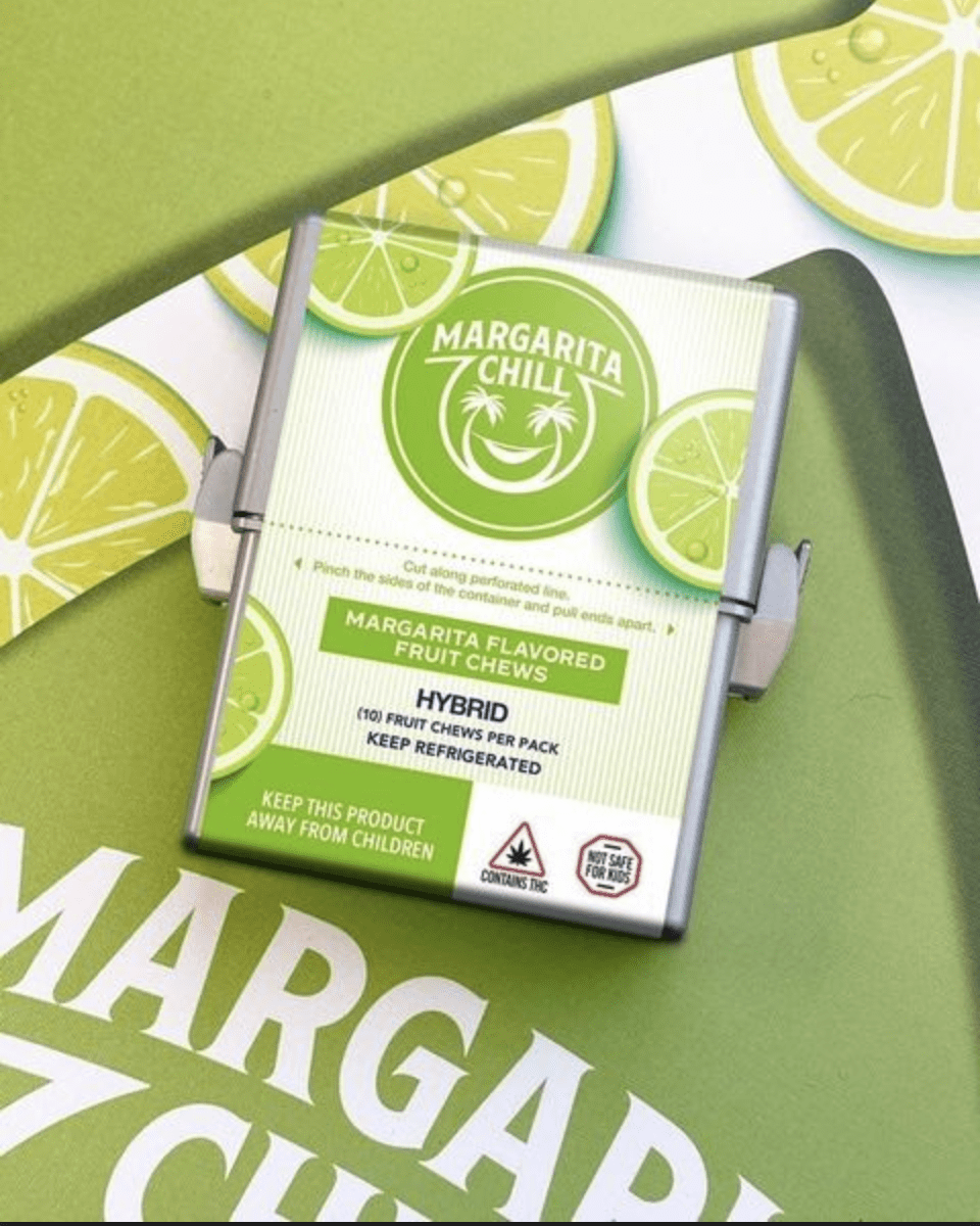 Margarita Chill Flavor Chews