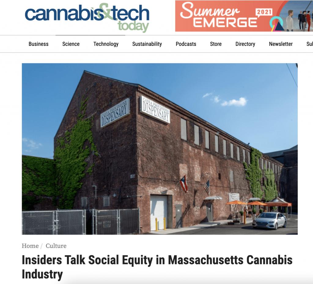 canna provisions holyoke dispensary cannabis tech today social equity western massachusetts