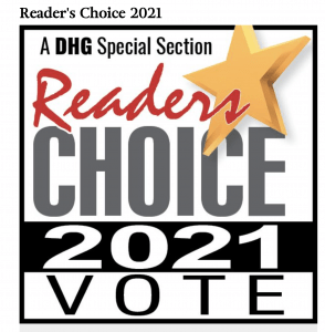 DHG READERS CHOICE 2021 DAILY HAMPSHIRE GAZETTE PIONEER VALLEY CANNA PROVISIONS HOLYOKE CANNABIS