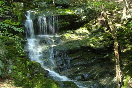 berkshire waterfalls hiking race brook canna provisions cannabis marijuana